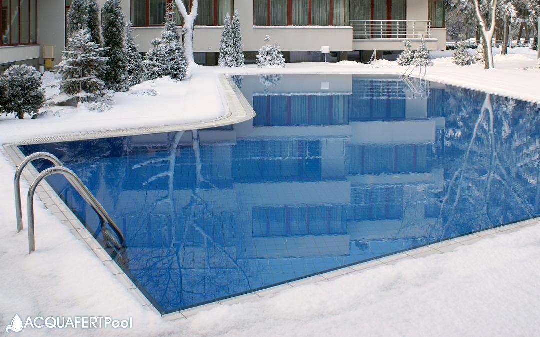 Come preparare la piscina per l'inverno