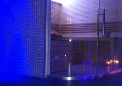 Acquafert SPA Hotel Catullo Verona Sauna con cristallo