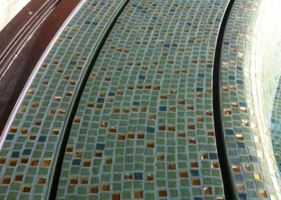 Acquafert vasca idromassaggio particolare mosaico