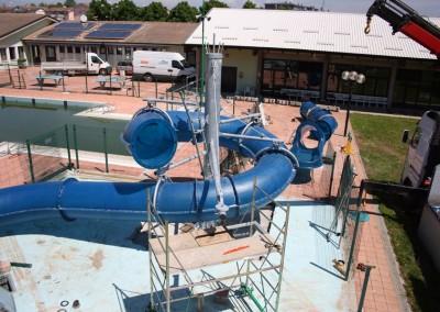 Acquafertpool Acquafertpool Scivolo a tubo montaggio moduli (4)