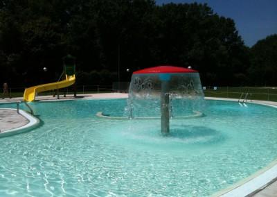 Acquafertpool Laguna con fontane e giochi di acqua