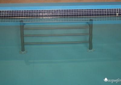 Acquafertpool Spalliera in acciaio INOX AISI 316 piscina riabilitativa