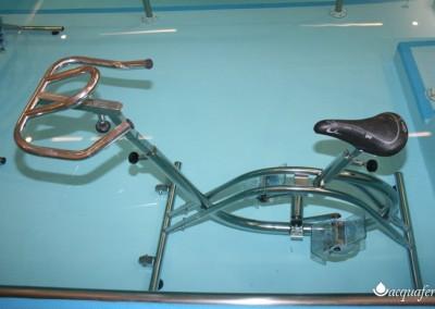 Acquafertpool vasca fisioterapica bicicletta per idrobike in acciaio INOX 316