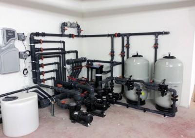 Acquafertpool vasca fisioterapica impianto automatizzato