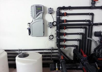 Acquafertpool vasca fisioterapica impianto di filtrazione