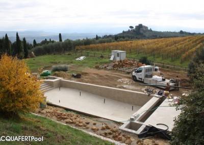 Acquafert Divisione Pool Progetto piscina per agriturismo in Toscana