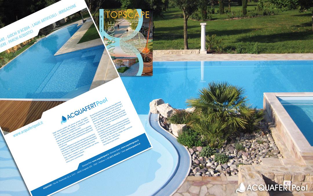 Acquafert Pool su Topscape Paysage di marzo 2016