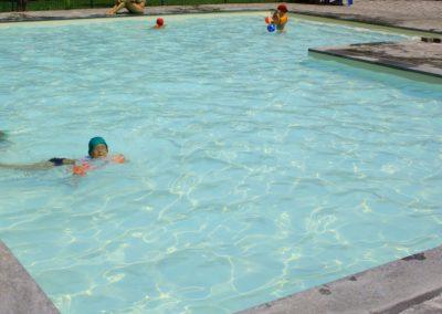 Lavori di adeguamento normativo in una piscina pubblica