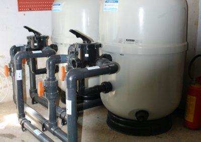 Rifacimento dell'impianto di filtrazione