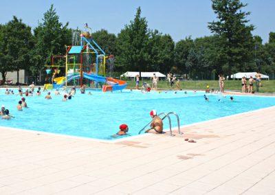 Ristrutturazione di una piscina pubblica